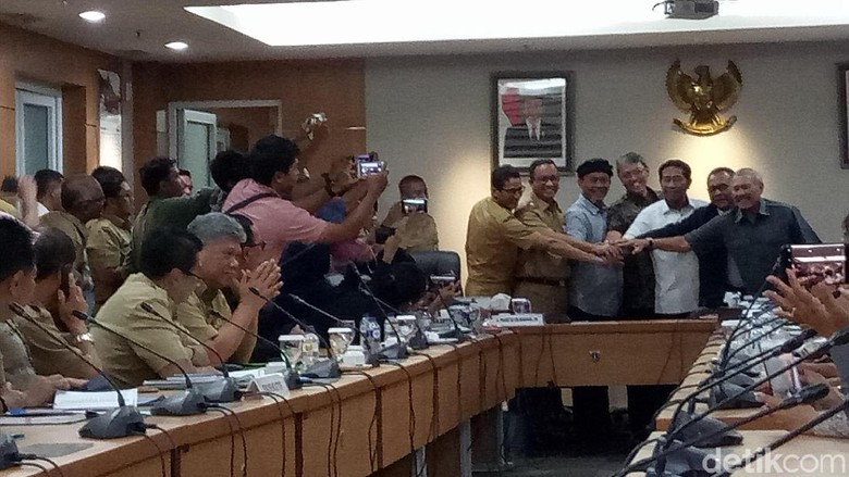 Pemprov DKI dan DPRD Sepakat Anggaran RAPBD 2018 Rp 77 Triliun
