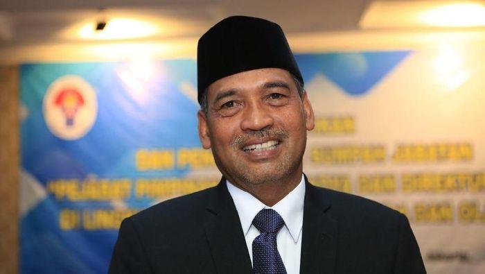 Deputi IV bidang Peningkatan Prestasi Olahraga Kemenpora, Mulyana (dok. Kemenpora)