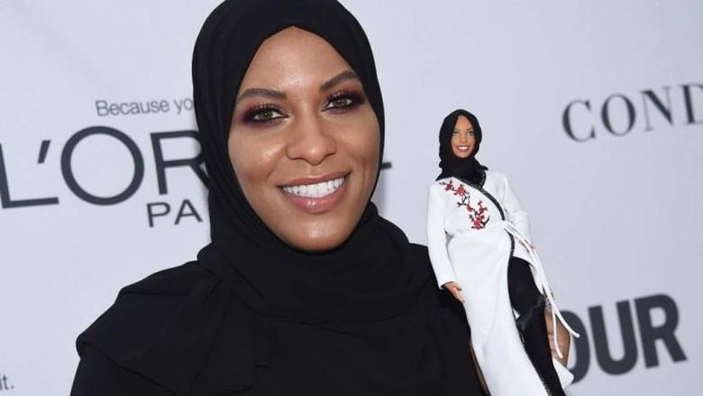 Terinspirasi Atlet Muslim, Boneka Barbie Berhijab Akan Diluncurkan