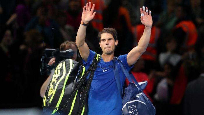 Rafael Nadal mundur dari ATP Finals 2017 (Hannah McKay/Reuters)