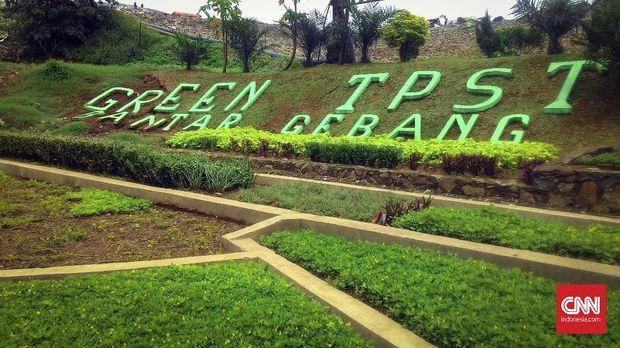 Salah satu sudut Tempat Pembuangan Sampah Terpadu (TPST) Bantargebang, Bekasi, belum lama ini.