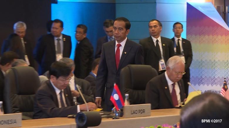 Wujud Jimat Andalan Jokowi yang Dibawa ke KTT ASEAN
