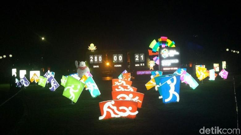 Kampung Atlet untuk Asian Games 2018 Palembang Baru Siap 75%