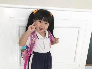 Siapa sih yang nggak tahu Baby Moonella? Di Instagram, anak yang biasa dipanggil Munel ini nge-hits banget, hingga kini followersnya aja 897 ribu lho. (Foto: Instagram/babymoonella)