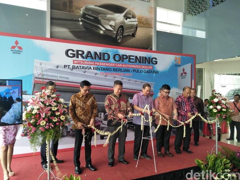 Mitsubishi Buka Diler Baru di Pulogadung (Foto: Ruly Kurniawan)
