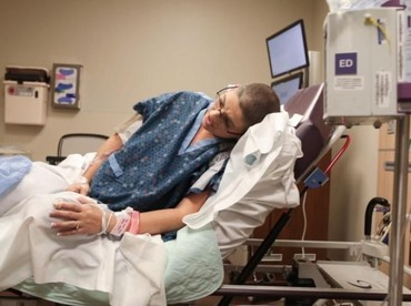Jelang si kecil lahir, kontraksi juga dirasakan wanita bernama lengkap Maria Crider ini. (Foto: www.bonniehussey.com)