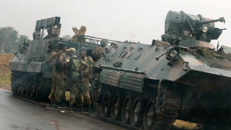Krisis Politik Zimbabwe, Tentara Kuasai Stasiun TV Nasional