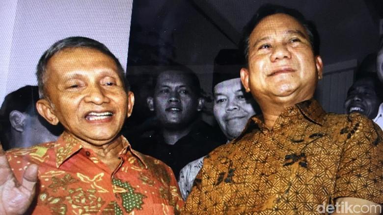 Membaca Kembali Jejak Pertemanan Prabowo – Amien Rais