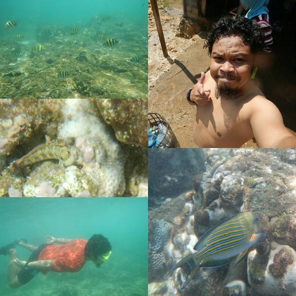 Kalau foto ini, Is Payung Teduh sedang menikmati keindahan Yogyakarta lagi. Ia berada di Pantai Ngalambor Gunungkidul (Dok. pusakata/Instagram)