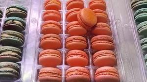 Unik! Macarons Ini Punya Sensasi Gurih dengan Bubuk Rasa Cheetos