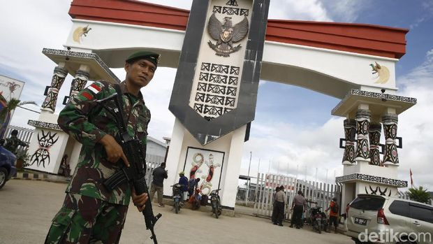 Gerbang perbatasan Indonesia