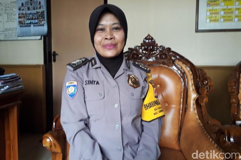 Ragam Aksi Sosial Brigadir Sinta, Polisi Baik dari Sumedang