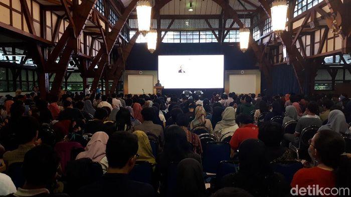 Kuliah Umum ITB (Foto: Muklis Dinillah)