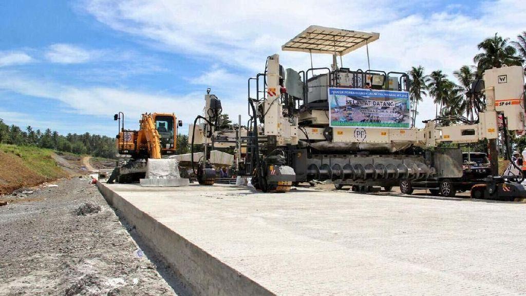 Gempa M 7,1 di Sulut, Proyek Tol Manado-Bitung Jalan Terus