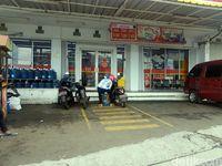 Tempat kejadian pemuda diserang sekelompok orang bertopeng di Kota Sukabumi.