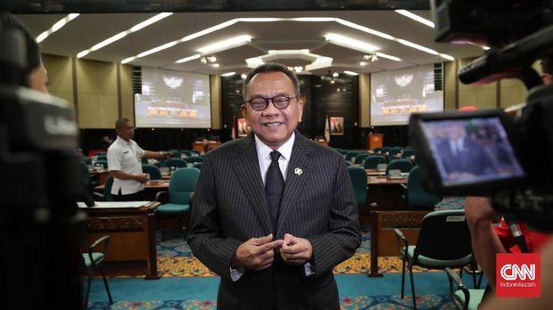 Wakil Ketua DPRD DKI Jakarta, M Taufik, di Jakarta, beberapa waktu lalu.