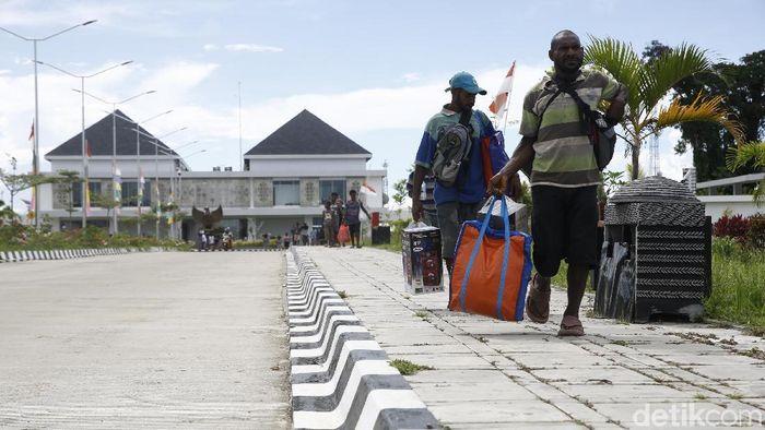 Perbatasan RI-Papua Nugini/Foto: Muhammmad Ridho