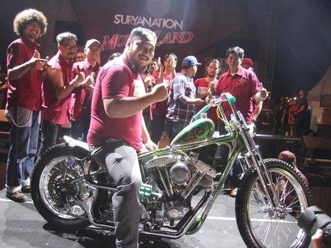 Motor Modifikasi Indonesia Berkompetisi di Verona Italia