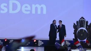 Jokowi Buka Rekernas Partai NasDem