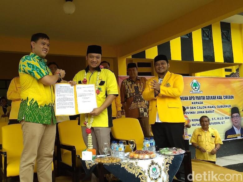 Golkar Cirebon Deklarasi Siap Menangkan Ridwan Kamil-Daniel