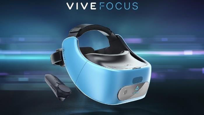 Vive Focus. Foto: HTC