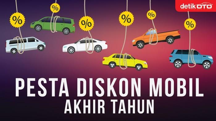 Fokus Diskon Mobil Akhir Tahun