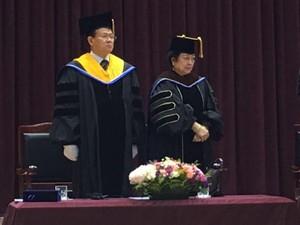Megawati Terima Gelar Doktor Kehormatan dari Kampus Mokpo Korsel