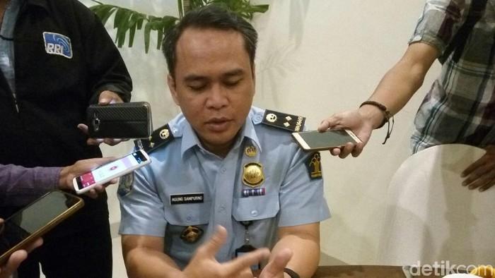 Kabag Humas Ditjen Imigrasi Agung Sampurno (Bayu Ardi Isnanto/detikcom)