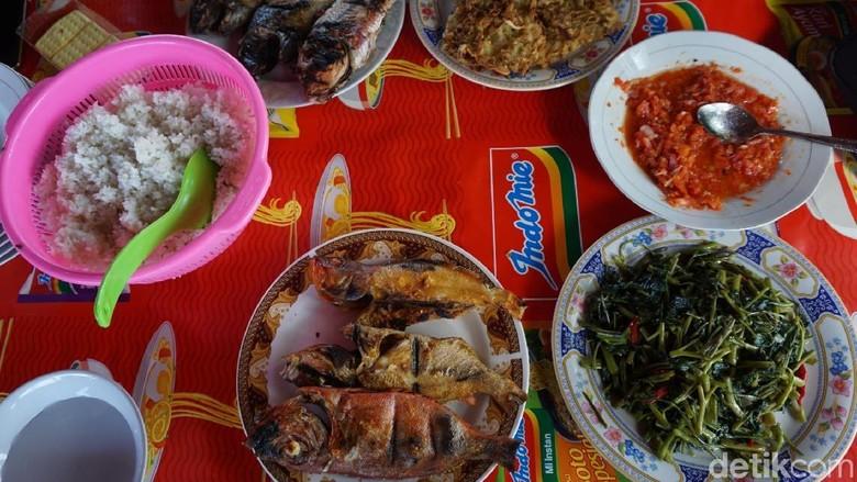 Aneka kuliner seafood sedap di Luwuk (Wahyu/detikTravel)