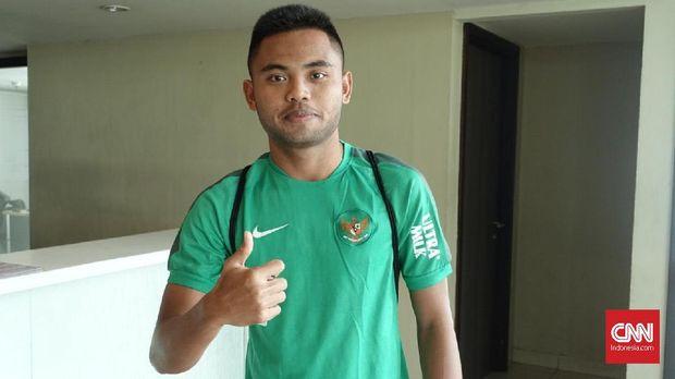 Saddil Ramdani pernah memperkuat Timnas Indonesia U-23. (
