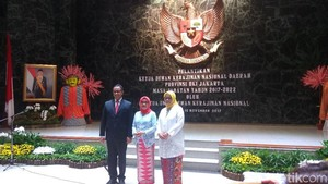 Istri Gubernur Anies Dilantik Jadi Ketua Dewan Kerajinan DKI
