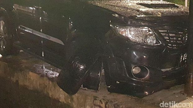 Kecelakaan Mobil Setya Novanto