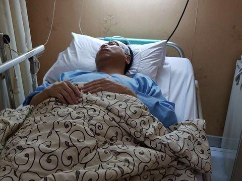 Foto Setya Novanto di RS Medika Permata Hijau.