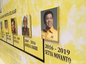Nasib Setya Novanto di Golkar Ditentukan Hari Ini