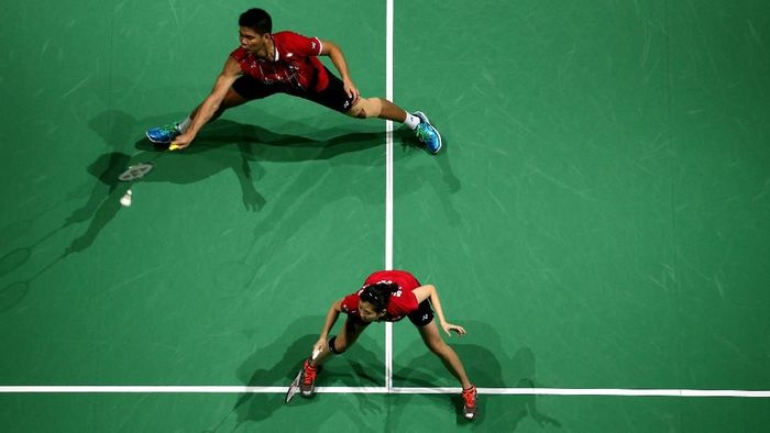 Praveen Jordan/Debby Susanto (Warren Little/Getty Images for Falcon)