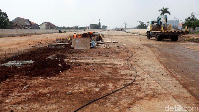 Ilustrasi Pembangunan Jalan Tol (Foto: Lamhot Aritonang)