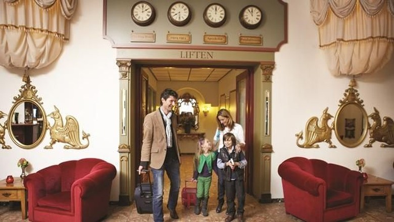 Ilustrasi hotel ramah anak (dok. Booking.com)