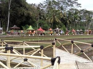 Berkunjung ke Desa dengan Deretan Gazebo Cantik di Semarang