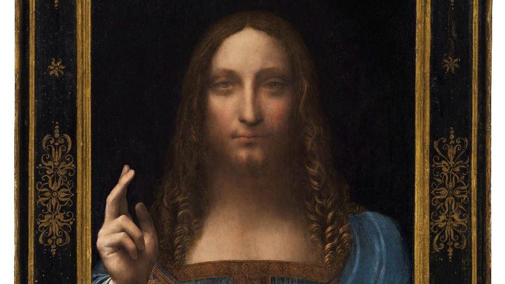 Ternyata! Lukisan Salvator Mundi Rp 6 T Dibeli Putra Mahkota Arab Saudi