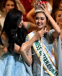 Kata Ayah Kevin Lilliana Soal Putrinya yang Jadi Miss International 2017