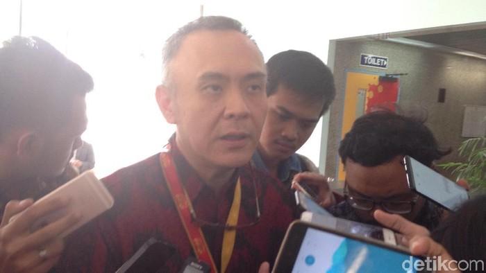 Presiden Direktur & CEO Indosat Joy Wahyudi (Agus Tri Haryanto/detikINET)