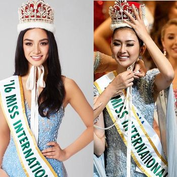 Kevin Lilliana Menang Miss International 2017 karena Mitos Warna Gaun Sama?