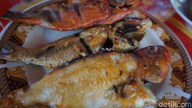 Ikan bakar lagi, sedap! (Wahyu/detikTravel)