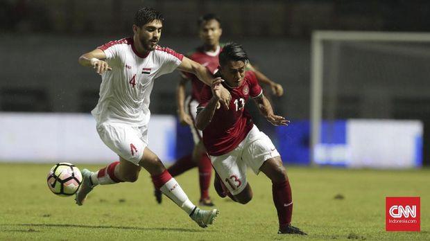 Timnas Indonesia U-23 unggul soal head to head atas Singapura.