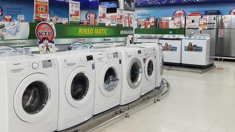 Cucian Kinclong Dengan Diskon Mesin Cuci Di Transmart