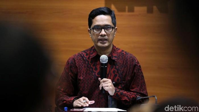 Kabiro Humas KPK Febri Diansyah (Foto: Agung Pambudhy/detikcom)