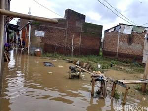 Ratusan Rumah di Mekarjaya Bandung Terendam Banjir