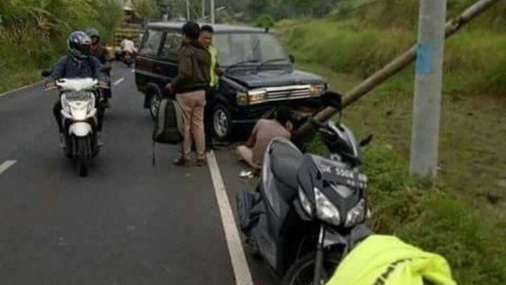 Netizen Bandingkan Fortuner Setya Novanto dengan Kecelakaan Lain