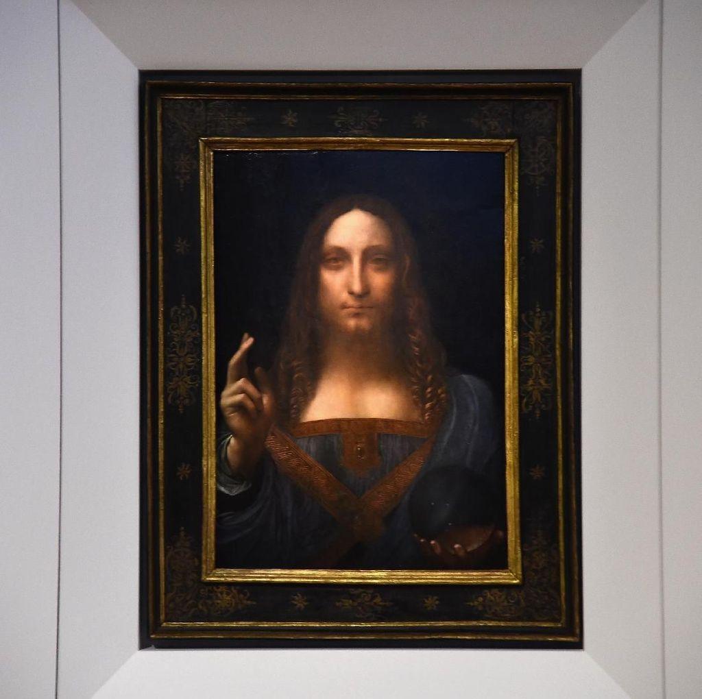 Terungkap! Ini Penampakan Lukisan Termahal di Dunia Sebelum Direstorasi