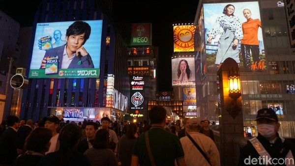 Selain Tokyo, Osaka di Jepang juga masuk dalam jajaran kota yang akan naik daun tahun depan. Bukan rahasia umum, kalau Jepang punya banyak penginapan yang menarik dan jadul (Wahyu Setyo/detikTravel)